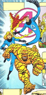 Fantastic Four (Earth-982) Fantastic Five Vol 1 1