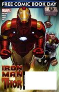 Free Comic Book Day Vol 2010 Iron Man Thor