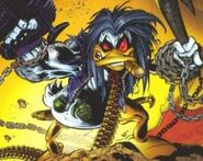 Lobo the Duck (Earth-9602) from Lobo the Duck Vol 1 1 (Cover) 0001