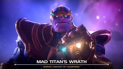 Mad Titan's Wrath Marvel Contest of Champions