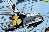 S.H.I.E.L.D. Shuttle from X-Force Vol 1 20 001