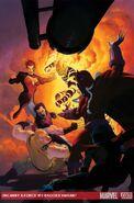 Uncanny X-Force Vol 1 11 Brooks Variant Textless