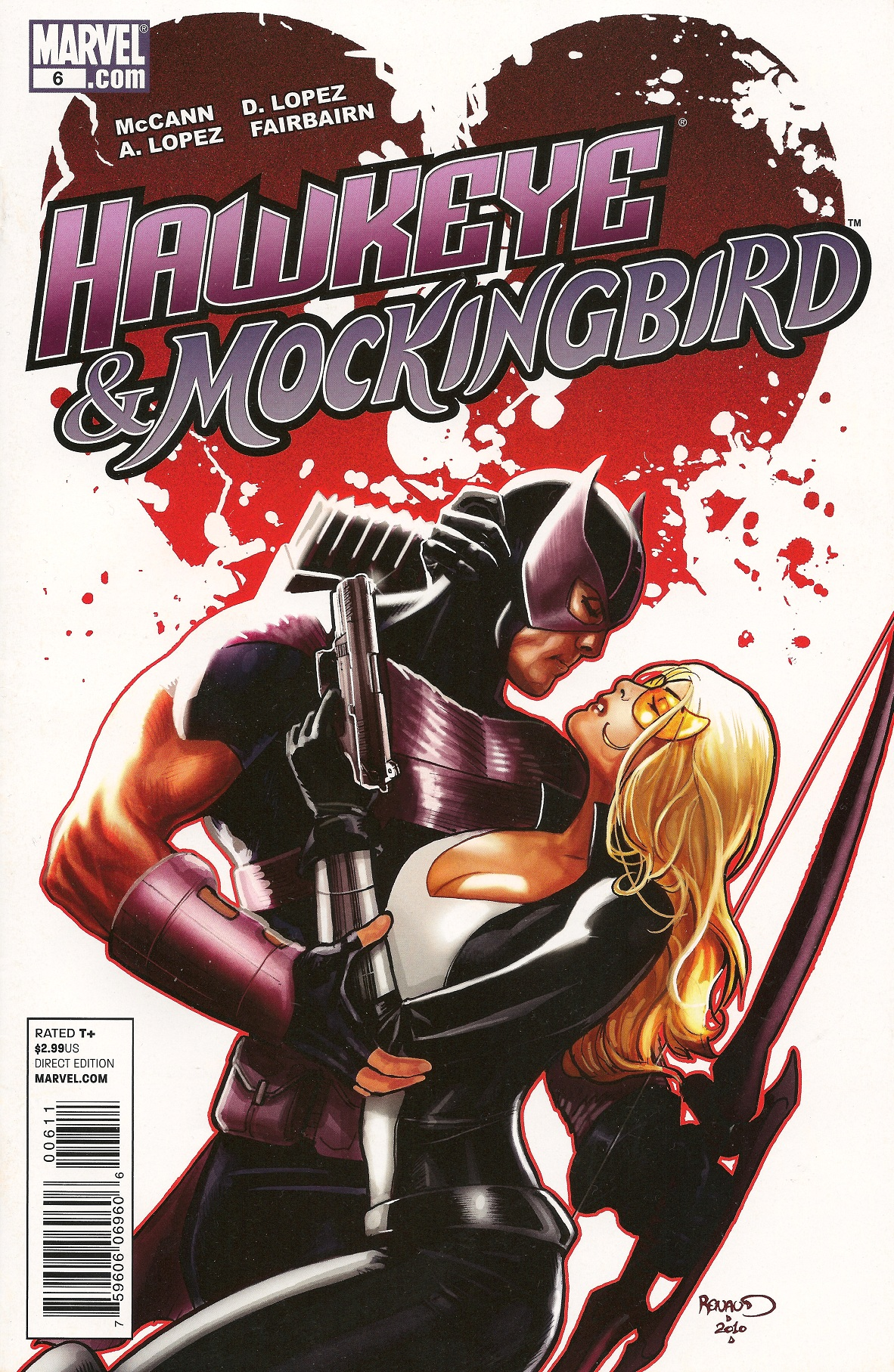 Hawkeye Mockingbird Vol 1 6
