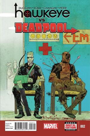 Hawkeye vs. Deadpool Vol 1 2
