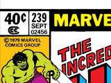 Incredible Hulk Vol 1 239