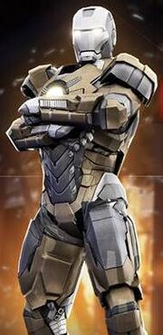 Iron Man Armor MK XVIII (Earth-199999) from Iron Man 3 The Official Game 001