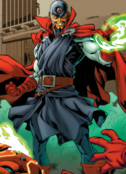 John Kaluu (Warp World) (Earth-616) from Secret Warps Soldier Supreme Annual Vol 1 1 001