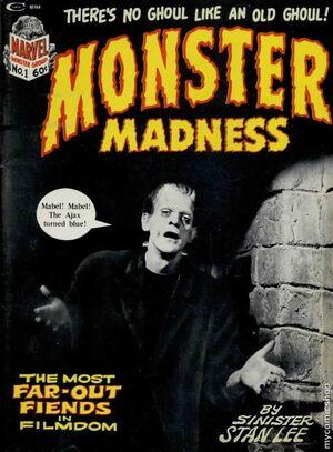 Monster Madness Vol 1 1