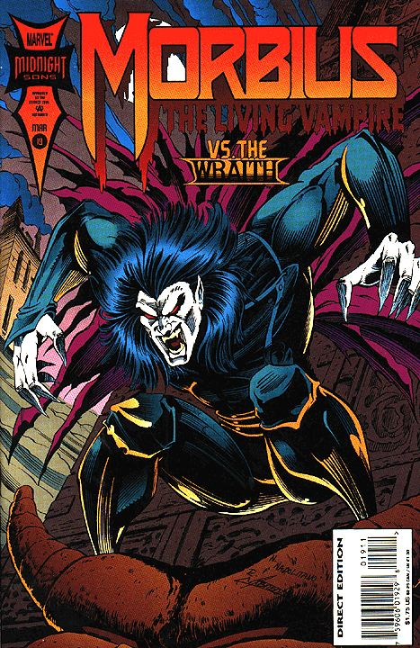 Morbius Vampire >> Morbius: The Living Vampire Vol 1 19 | Marvel Database