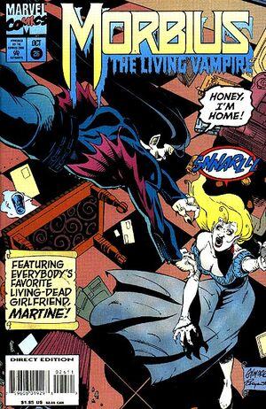 Morbius The Living Vampire Vol 1 26