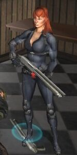 Natalia Romanova (Earth-50116) from The Punisher (2005 video game) 0001