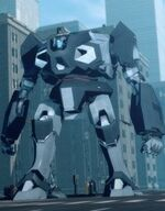 Obadiah Stane (Earth-904913) as Iron Monger 001
