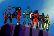 Six American Warriors (Earth-92131) from Spider-Man The Animated Series Season 5 4 0002