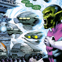 Skrull Army from Captain Britain and MI-13 Vol 1 2