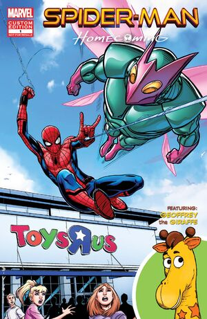 Spider-Man Homecoming Fight or Flight Vol 1 1