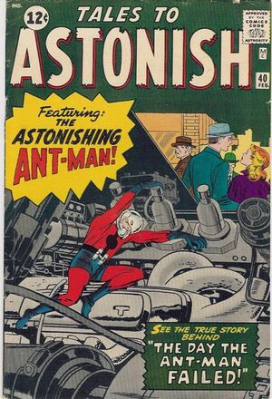 Tales to Astonish Vol 1 40 Vintage
