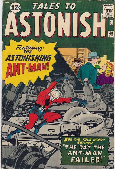 Tales to Astonish Vol 1 40