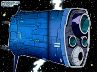 Thanos' Dreadnought 666 from Infinity Crusade Vol 1 4