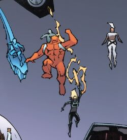 X-Men (Earth-669) and Alpha Flight (Space Program) (Earth-669) from Infinity Countdown Captain Marvel Vol 1 1 0001