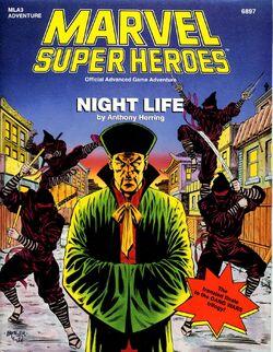 Zheng Zu (Earth-616) from Night Life cover