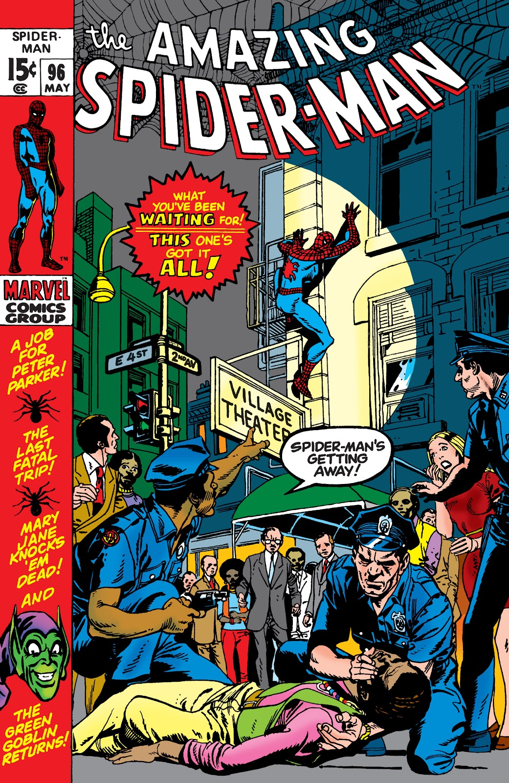 Image result for amazing spider-man 96