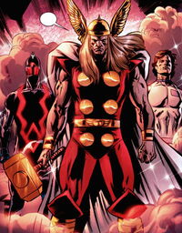 Avengers (Earth-9997) from Paradise X Vol 1 A 0001