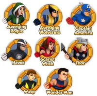 Avengers Unity Division (Earth-91119) Marvel Super Hero Squad Online