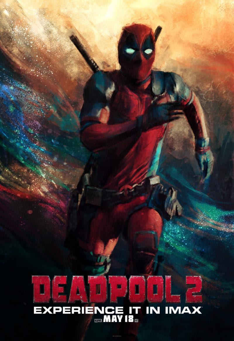 DEADPOOL 2 Movie PHOTO Print POSTER Film 2018 Wade Wilson Colossus Marvel 004