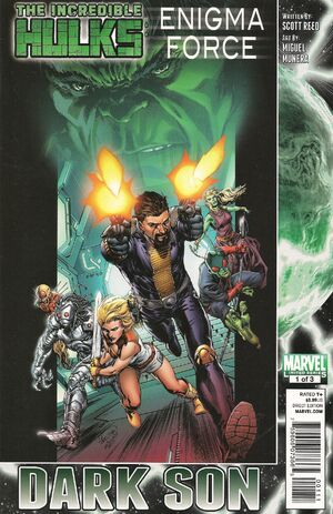 Incredible Hulks Enigma Force Vol 1 1