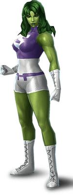 Jennifer Walters (Earth-TRN012) from Marvel Future Fight 004