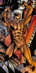 Luke Cage (Earth-22025) from Marvel Universe Millennial Visions Vol 1 1 001
