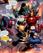 New Avengers (Earth-91126) from Marvel Zombies Return Vol 1 5 0001
