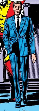 Ronald Reagan (Earth-267) from Avengers Vol 1 267 001