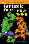 True Believers Fantastic Four - Hulk vs. Thing Vol 1 1