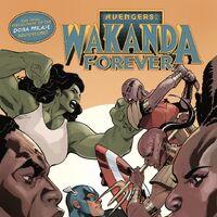 Del Ray Variant Wakanda Forever Avengers #1