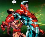 Akihiro (Earth-10382) and Norman Osborn (Earth-10382) from Dark Wolverine Vol 1 82 001