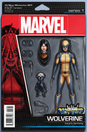 All-New Wolverine Vol 1 1 Action Figure Variant