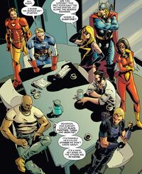 Avengers (Earth-12101) from Deadpool Kills the Marvel Universe Vol 1 2 0001