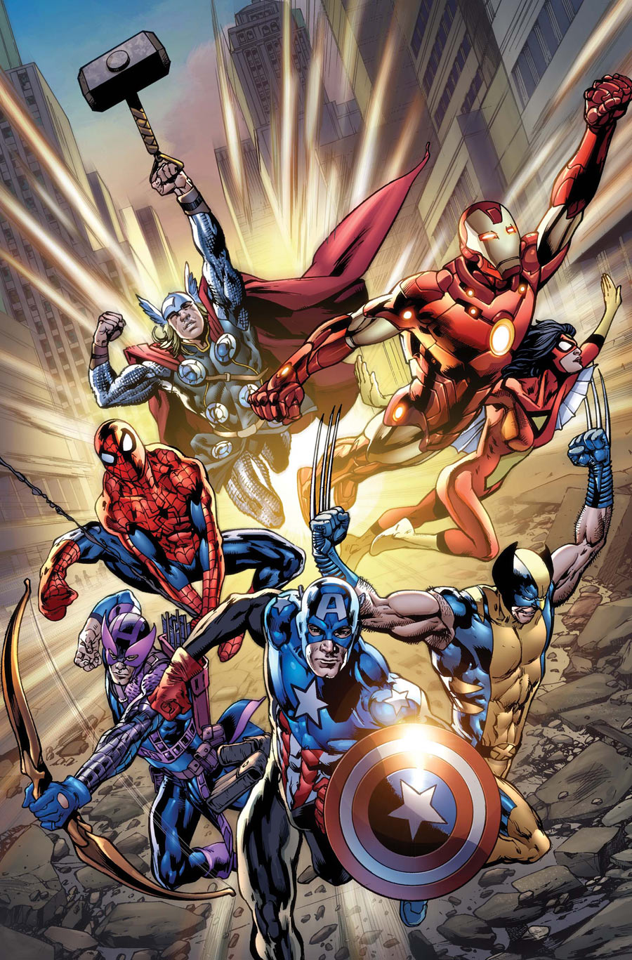 avengers vol 4 121 textless - Avengers Marvel
