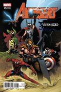Avengers Vol 7 5 Venomized Variant