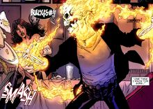 Johnathon Blaze (Earth-616) from Ghost Rider Vol 7 0.1 002