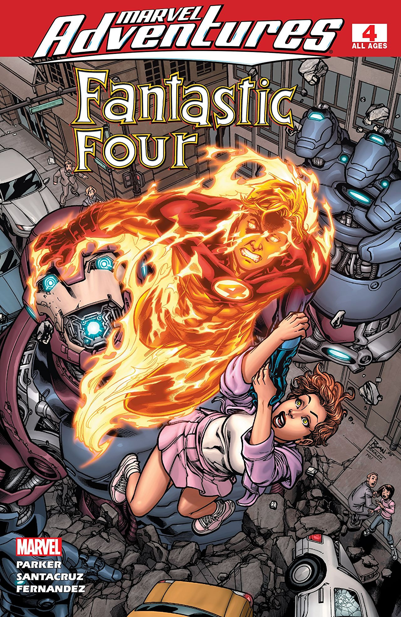 Marvel Adventures Fantastic Four Vol 1 4