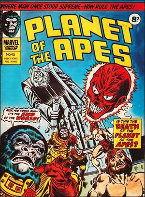 Planet of the Apes (UK) Vol 1 45