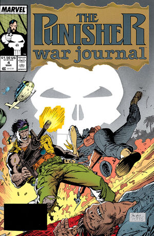 Punisher War Journal Vol 1 4
