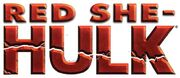 Red She-Hulk Logo