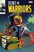 Secret Warriors Vol 2 8 Lenticular Homage Variant
