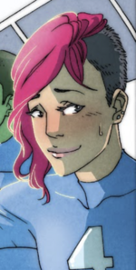 Victoria Harkness (Earth-TRN421) from 100th Anniversary Special - Fantastic Four
