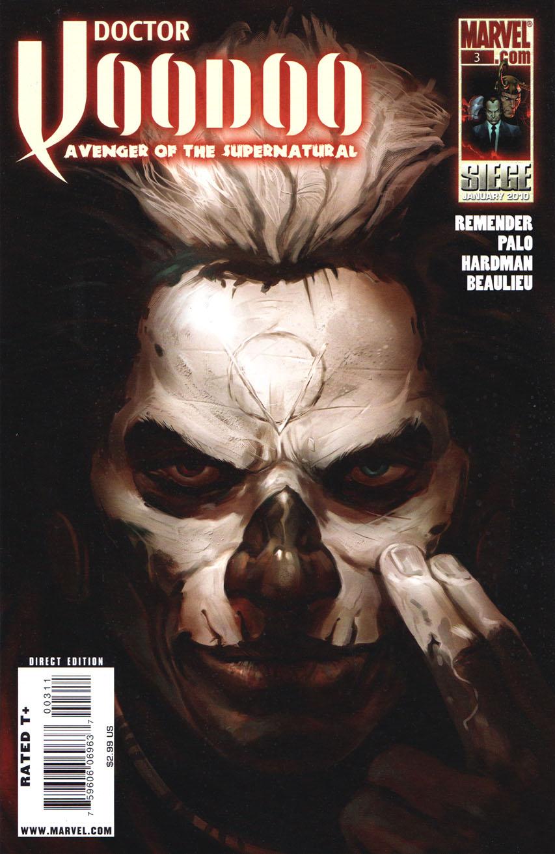 Doctor Voodoo Avenger of the Supernatural Vol 1 3