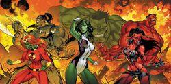Fall of the Hulks The Savage She-Hulks Vol 1