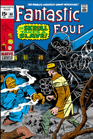 Fantastic Four Vol 1 90